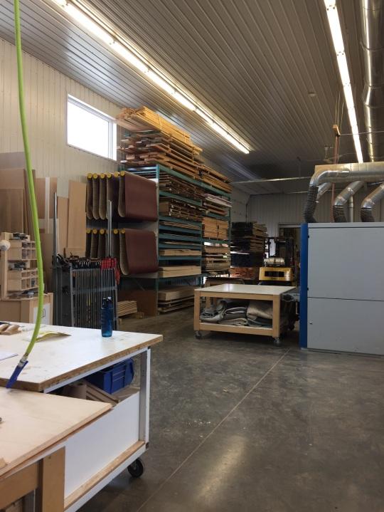The Speke|Klein workshop in Durham, Ontario