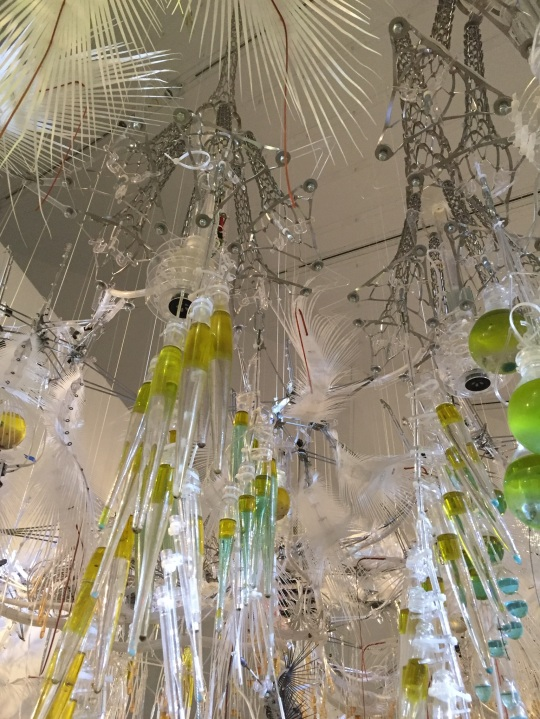 IMAGE 4) Detail view of 'Transforming Space' installation at ROM, June 2018. Image: KRW.